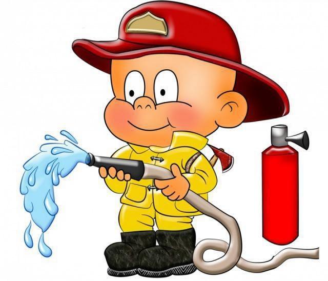 Телефон, прикольные рисунки по пожарной безопасности